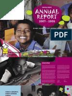 PB Annual Report 2007-08
