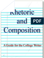 Rhetoric and Composition