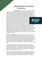 A Antisense Technology 6