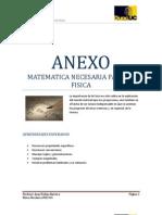 Anexo Matematicas necesaria para la Física