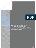 Visio 2010 Add-In for WBS Modeler - User Guide