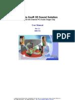 8738 Xear3d User Manual Re