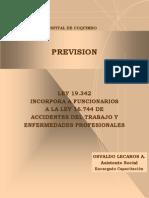 LEY Accidentes Del Trabajo 16744