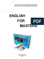 English for Masters