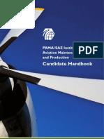 PAMA SAE Cert Candidate Handbook