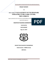 Security Management of TechnoPark Infrastructure