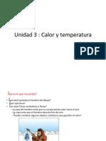 Unidad 3 Calor y Temperatura