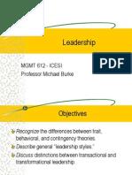 612 - Leadership