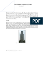 Development of Tall Buildings in Jakarta