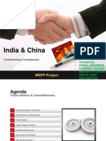 India Vs China Competitiveness Presentation