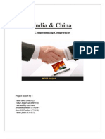 India Vs China Competitiveness