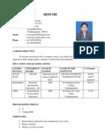resume p
