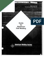 AWS - Guide for Aluminum Hull Welding