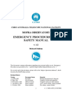 Emergency and Safety Manual