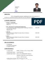 Resume Arun1