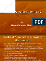 Accounts of Company