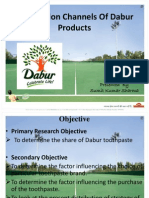 Distribution Channels of Dabur Products