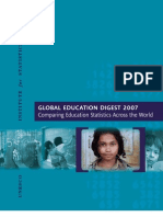 Global Education Digest (GED) 2007