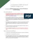 Cswp-wldm Sample Exam