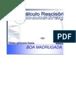 CÁLCULO de TEMPO DE SERVIÇO (Demonstração)