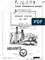 Petroleum Siuation Far East