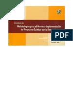 Metodologia para el Diseño de Proyectos Bajo Demanda