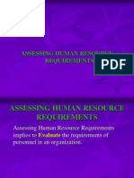 Human Resource Forecasting Students