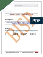 Loading Data Into Essbase Using FDQM