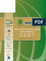 Gulf Venture Capital Association- Private Equity in the Middle East 2007