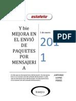MEJORA EN EL ENVIÓ DE PAQUETES POR MENSAJERIA