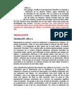 APUNTES DE SÓCRATES
