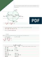 Ecuación de la elipse