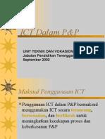ICT dalam Pengajaran dan Pembelajaran