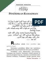 Pendidikan Ramadhan