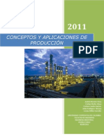 Conceptos y Aplicaciones de Produccion