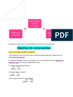 Adjective Normal Position (02)