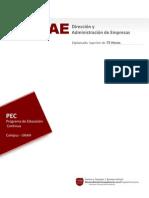 Diplomado en Dirección y Administración de Empresas