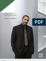 DB Interim Report 2Q 2011