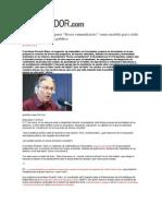 ENTREVISTA EL ESPECTADORProfesor Vilaró propone