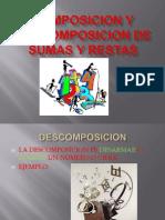 Composicion y Descomposicion de Sumas y Restas