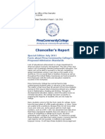 Chancellor Report July 11