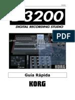 Guía rápida Korg D3200