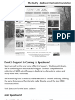 Devic's Support is Coming to Spectrum! an NMO Community