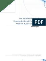 4810 Benefits Unified Communications Small Medium Businesses Smb