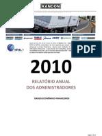 Randon Relatório Anual 2010