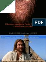 28 domingo Tiempo Ordinario -A- INVITACIÓN BANQUETE