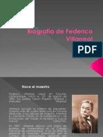 Biografia de Federico Villarreal