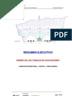 Resumen Ejecutivo Del Tuneles SAN EDUARDO GUAYAQUIL