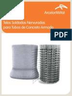 Telas Soldadas Para Tubos de Concreto Armado - ArcelorMittal Tabelas - Belgo