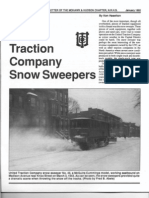 United Traction Co. Snow Sweepers